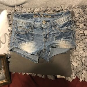 Woman's Size 3 Jean Shorts